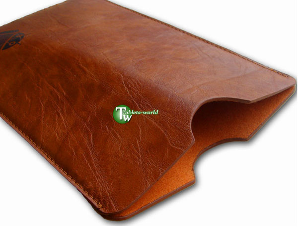 9.7'' leather case cover for 9.7 inch motorola xoom samsung flytouch zenithink etc