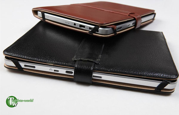 10'' leather case cover for 10 inch motorola xoom samsung flytouch zenithink etc
