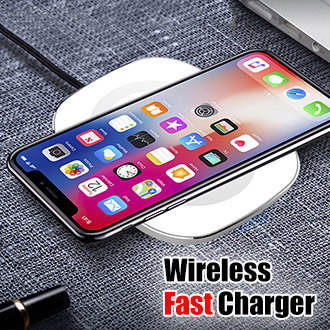 10W Android Samsung S8 Note8 iOS iPhone 8 plus iPhoneX Wireless Fast Charger