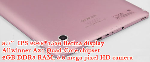 SuPAD Chuwi V99 quad-core 9.7'' Retina display Android tablet