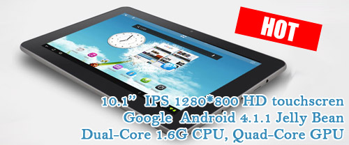 10.1'' multi touchscreen Saner N10 Ampe A10 Dual-Core Android Tablet computer