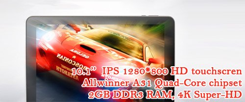 Allwinner A31 2GB RAM Sanei N10 quad-core ultimate edition Android Tablet computer