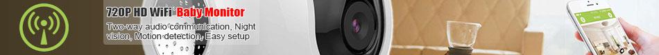 720P HD WiFi Camera IP Camera Baby Monitor Remote Control