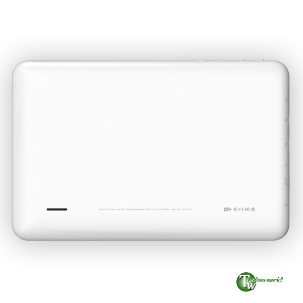 ainol novo7 Aurora google android 4.0 ice cream sandwich os 1.2ghz 7'' capacitive IPS tablet pc DDR3 1GB 9.9mm