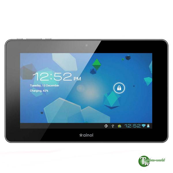 Ainol novo7 advanced II google android 4.0 ice cream sandwich os 1.2ghz 7'' capacitive tablet pc FLASH WIFI N