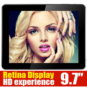 9.7 HD Retina Display Quad-Core Android 4.2 Tablet Colorly CT972 Q.cosy
