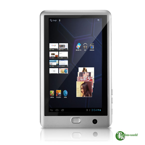 Cube k8gt google android 2.3 4.0 ice cream sandwich os 1.2ghz 7'' capacitive tablet pc 8gb version