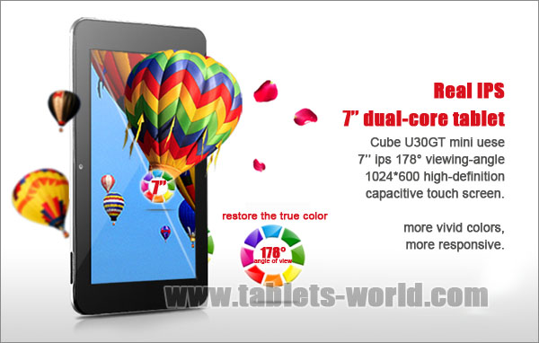 the buy cube u23gt dual core rk3066 8 inches android 4 1 16gb quad core mali400