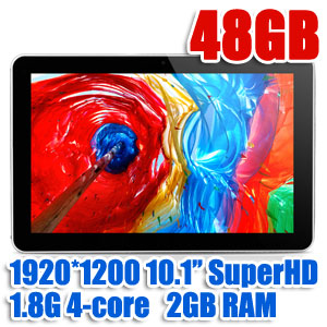 10.1'' Super-HD Quad-Core Bluetooth Android tablet Cube U30GT PEA 2 with GIFTS