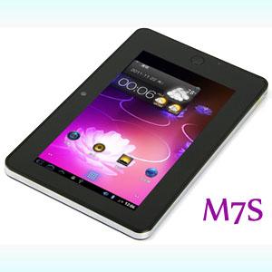 Samsung S5PV210 Cortex A8 1GHz CPU Haipad M7S 7'' Android 2.3 4.0 Bluetooth Tablet PC