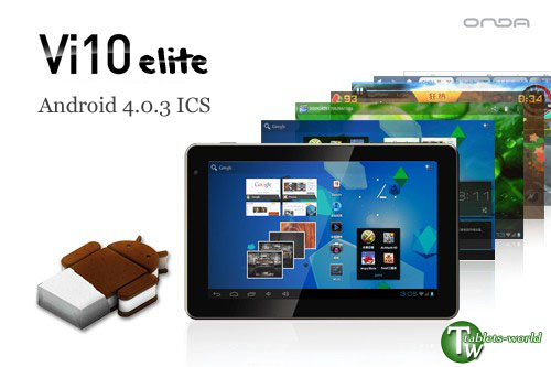 Android 4.0.3 ICS 7'' HD capacitive touch screen Ona vi10 elite 1g ram 1.5ghz cpu 2160P tablet PC