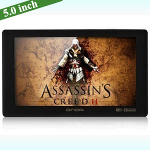 5.0 inch HD capacitive touch screen Onda vx580w Android 2.3 4.0 Tablet PC Wifi 3G flash