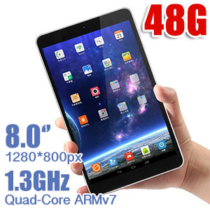ONDA v801s Quad-Core 8.0 inch Android 4.4 Tablet PC 48GB Bundle