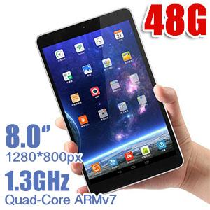ONDA v801s Quad-Core 8.0 inch Android 4.4 Tablet PC 48GB Bundle