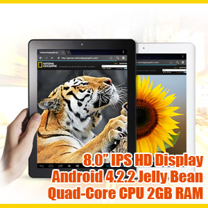 Allwinner A31 2GB RAM Android Tablet PC 32GB Onda V811 Quad-Core CPU