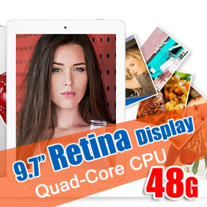 9.7 Retina Display Quad-Core Android 4.2 Tablet PC Onda V975 48GB Bundle