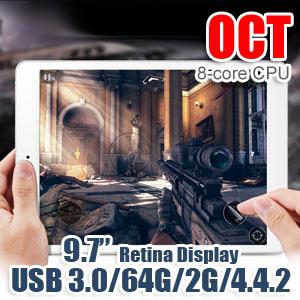 9.7 Retina Display USB3.0 Android 4.4 Tablet PC Onda V989 Octa