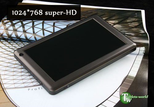 Ramos w3hd 7 inch high-defination capacitive touchscreen android 2.3 8gb tablet pc