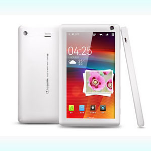 7 inch Capacitive 1024*600 high-defination Ramos W6HD Android 2.3/4.0 Tablet 8G white