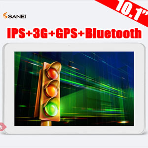 Sanei N10 Ampe A10 Dual Core 3G Edition 10 inch Android Tablet with Gifts Pack001