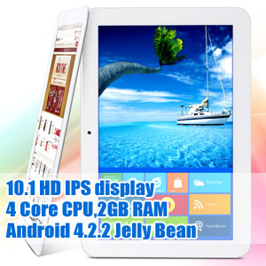 10.1 IPS HD 2GB RAM Android 4.2.2 Tablet PC Teclast A11 Quad Core with Gifts