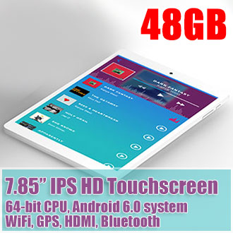 8 inch mini Pad P89H Android 6.0 Tablet 64bit CPU GPS HDMI 48GB
