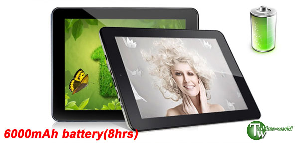 1GB DDR3 9.7'' IPS Android 2.3 4.0 ICS Teclast A10t tablet PC metal WiFi 3G Flash 2160P