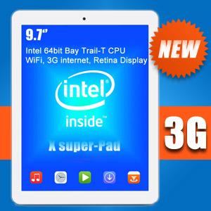 9.7 Retina Display Intel 64bit Teclast X98 3G Super Pad GPS WiDi