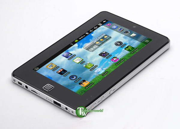 7'' Tablet PC VIA 8650 with GSM Phone Call GPRS 3G WIFI RJ45 Flash Google Android 2.2 Froyo