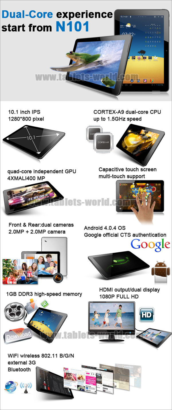 30%OFF BUY Window N101 10 1'' IPS Android 4 1 Dual-Core