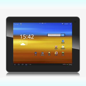 9.7 inch Capacitive IPS touchscreen Android 2.3 4.0 Yuandao N90 16GB