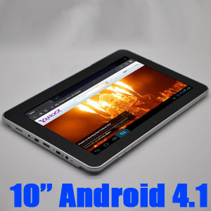 Zenithink C93 10 inch Android 4.1 Tablet Dual Core CPU with Gifts Pack002 40G