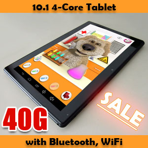 10.1 Capacitive Four Core Android 4.2 Tablet PC Zenithink C94 40GB Bundle