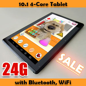 10.1 Capacitive Four Core Android 4.2 Tablet PC Zenithink C94 24GB Bundle
